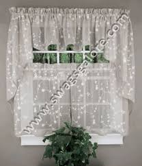Cafe Tier Curtains Valerie Curtains Are A Sheer U0026 Macramé Combination Style The