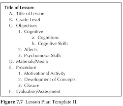 lesson plan template 2 how to teach science education real good