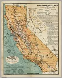 Henry Cowell State Park Map by California Highway And Railroad Map David Rumsey Historical Map