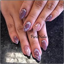 full set nails with gel color and hand design yelp