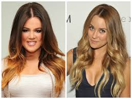 dip dyed hair color ideas hair world magazine