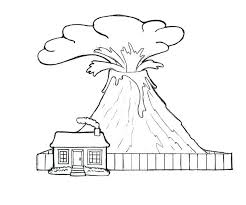 coloring pages volcano watch coloring page volcano coloring pages volcano and watch house