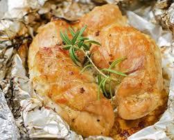 cuisiner des escalopes de poulet recette escalopes de poulet marinés au paprika en papillotes