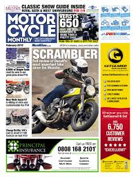 motor cycle monthly february 2015 full issue by mortons media