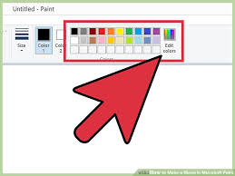 how to make a blend in microsoft paint 14 steps with pictures