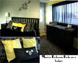 Yellow And Grey Bedroom by Bedroom Comfortable Grey Yellow Bedroom On Bedrooms Ideas With