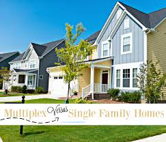 versus single family homes