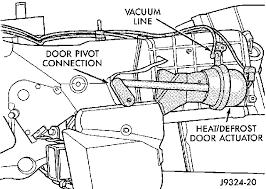 heater dodge dakota i also a 1999 dodge durango cannot get air out of heater