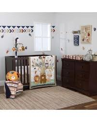 amazing deal on nojo aztec forest 4 piece crib bedding set ivory