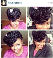 braided pin up hairstyle for black women box braids pin up inspiration for my hair a k a box braids