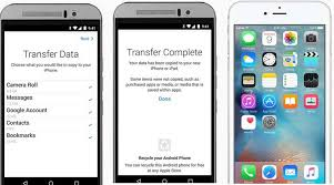 how to transfer apps from iphone to android apple s move to ios app is now live on play store the