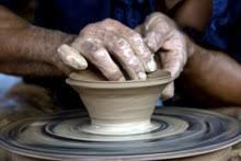throwing a pot yourist studio gallery october news and events