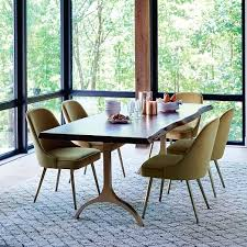 Mid Century Dining Room Chairs Mid Century Dining Chair West Elm - West elm dining room chairs