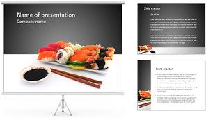 sushi menu for powerpoint