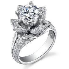 flower engagement rings wedding ring mindyourbiz us