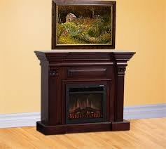 ideas tips fireplace mantel kits with six chadels above and two