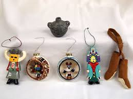 collection of american ornaments