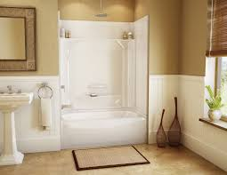 shower stall ideas for a small bathroom bathroom exciting merola tile wall with doorless shower for small