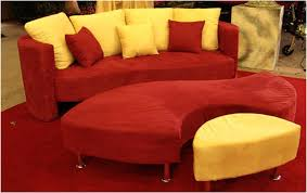 Red Sofa Slipcovers Red And Gold Three Piece Sofa Event Furniture Rental Orlando
