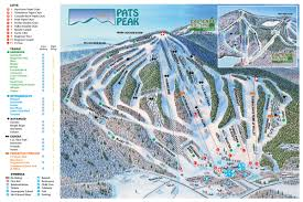 Colorado Ski Resort Map Pats Peak Pats Peak Ski Area In Henniker Nh Is Southern New