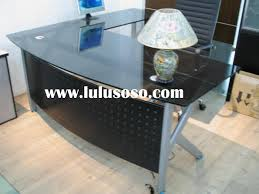Modern Office Table Designs With Glass Glass Desk Office Furniture Designs Ikea Office Table Glass