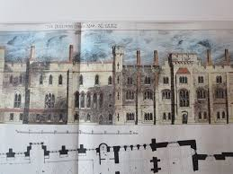 arundel castle floor plan arundel castle sussex 1882 original plan charles alban buckler
