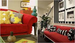 Red Sofa Furniture Best Red Sofa Living Room Ideas Contemporary House Design