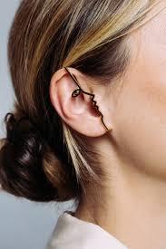 ear cuff images dina ear cuff vermeil mara