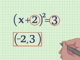 how to find the vertex of a quadratic equation 10 steps