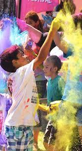 f a q festival of colors usa celebration