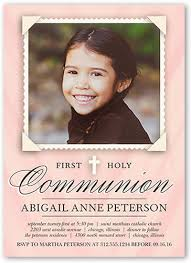 communion invitations for girl communion invitations girl shutterfly