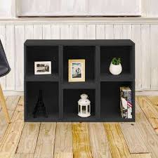 black bookcases home office furniture the home depot