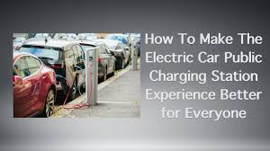build your own ev charging station how to make the electric car public charging station experience
