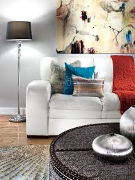 Transitional Living Rooms by Glamorous Transitional Living Room Natasha Eustache Garner Hgtv