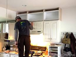 adding toppers to kitchen cabinets extending kitchen cabinets up to the ceiling reality daydream