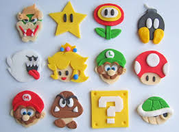 mario cake topper mario cookie and cupcake toppers gadgetsin