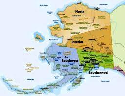 alaska on map alaska anchorage maps alyeska resort