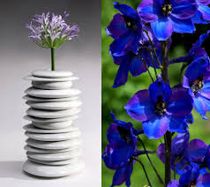 Blue Flower Vases Modern Flower Vases 24 Decorative Designs Ideas And Arrangements