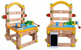 kids carpenter build your own wooden chair kids children pretend