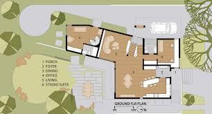 princeton university floor plans quarry house marina rubina archdaily
