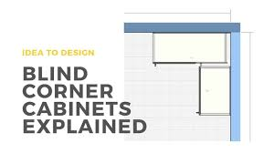 what is a blind corner kitchen cabinet what is a blind corner cabinet the homestud