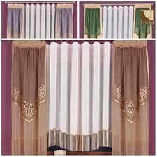 gardinen modern wohnzimmer braun haus design ideen