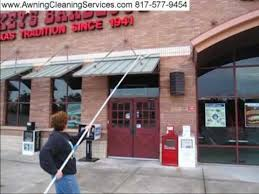 Awnings Dallas Cleaning Metal Awnings To Remove Rust Dirt And Bird Droppings