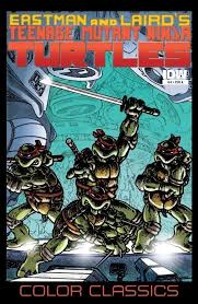 teenage mutant ninja turtles color classics 4 u2013 idw publishing