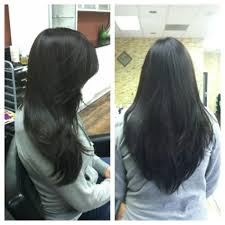 long v shaped layered haircut this is a perfect long v shaped long