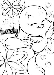 11 images tweety valentine coloring pages tweety bird