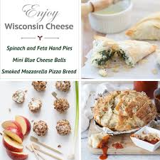 holiday appetizers with wisconsin cheese