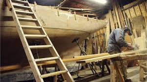 one man u0027s eight year effort to build a wooden ship by hand bbc news