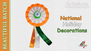 Decorative Flags For The Home Diy Video Making Indian Tricolour Flag