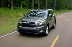 2014 toyota highlander reviews and rating motor trend
